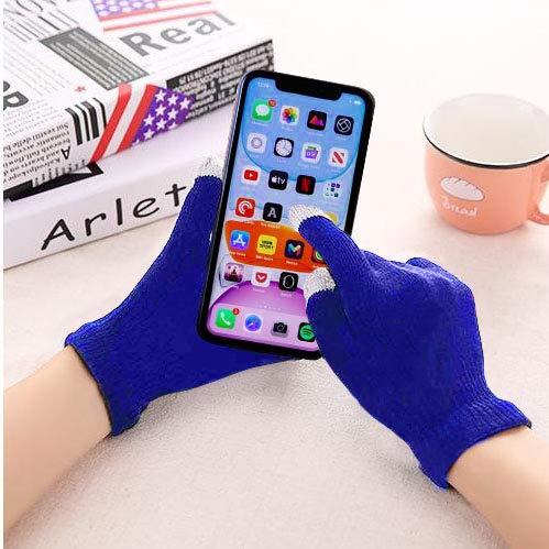 Warme Touchscreen-Handschuhe, kompatibel mit iPhones, Androids, iPads, Tablets...