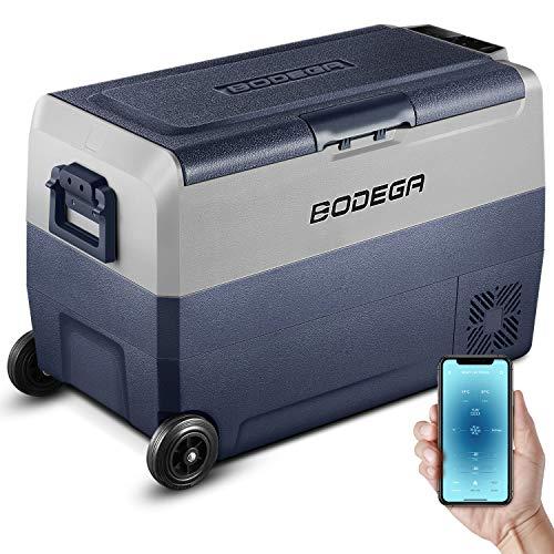 BODEGA 50L Kompressor Kühlbox Auto Kühlschrank Elektrischer Kühlschrank mit...