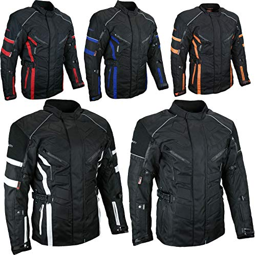 HEYBERRY Herren Touren Motorradjacke Textil schwarz Gr. XL