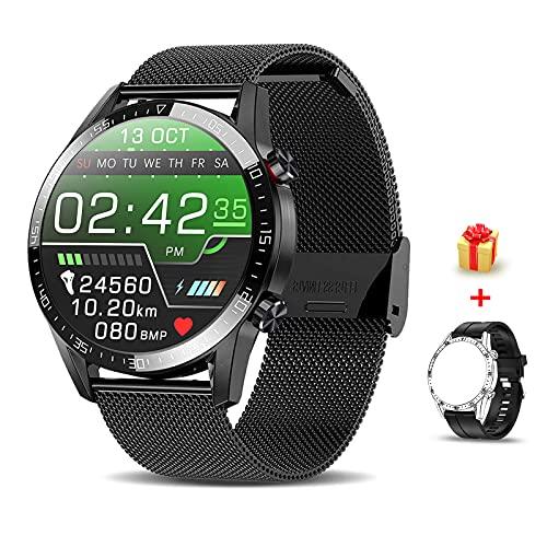 Voigoo Smartwatch (2021 neu) 1.3' Touch Screen Herren Damen Intelligente Uhren...