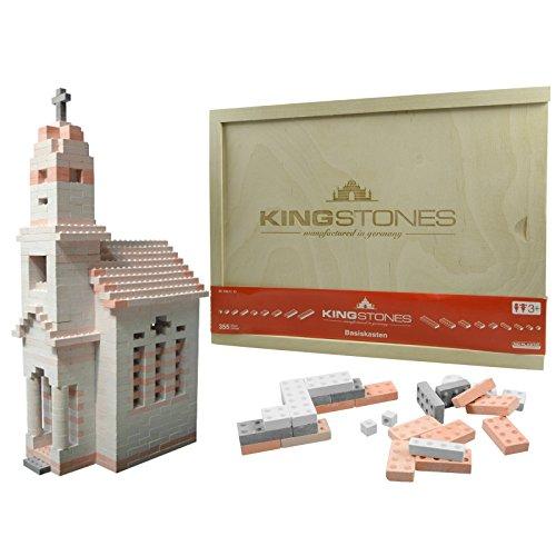 KINGSTONES manufactured in germany Basiskasten gemischt Steinbaukasten aus...