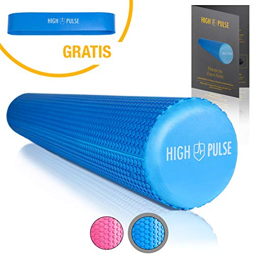 High Pulse Pilates Rolle inkl. Fitnessband + Gratis Übungsposter – Die...