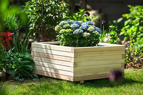 Larisa Blumentopf, Blumenkasten, Pflanzkasten auf Holz ! HIT !! (60x60x30)