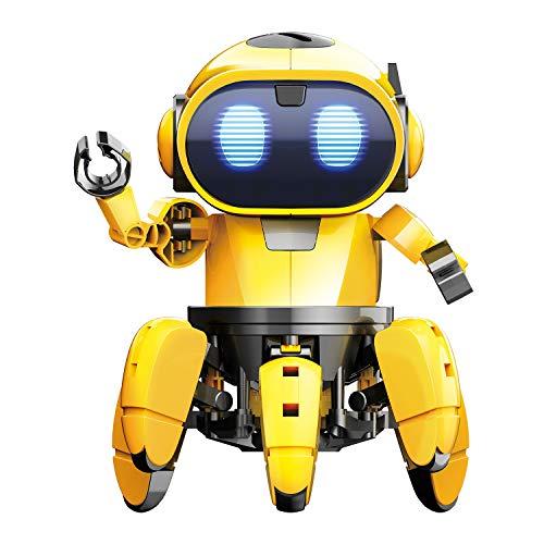 SELVA Spider Robot, Roboter-Bausatz, 107-teilig, DIY, mit Sound- und...