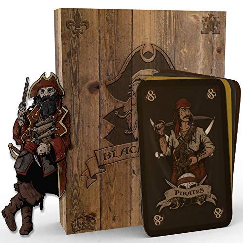 Mindrax® Blackbeard | Strategisches Stich-Kartenspiel | Gesellschafts-Spiel...