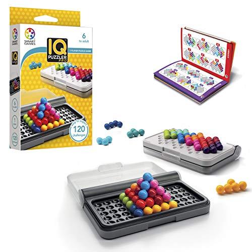Smart Games SG455 IQ-Puzzler PRO, Geschicklichkeitsspiel, Reisespiel,...