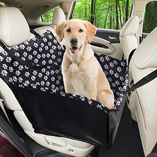 Funpet Hunde Autositz Wasserdichte Haustier Autoschondecke mit Hund...