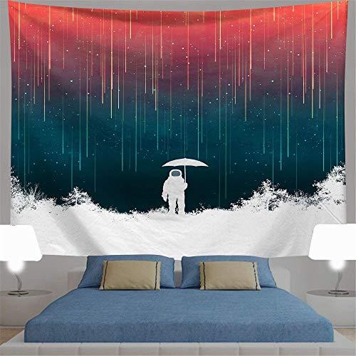 OTIAN Wandteppich Indisch Bohemia Astronaut Wandteppich Mandala Hippie Boho...