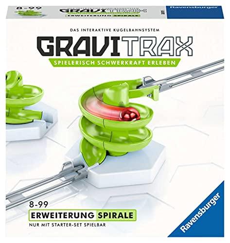 Ravensburger GraviTrax Kugelbahn - Erweiterung Action-Stein Spirale 26811, für...