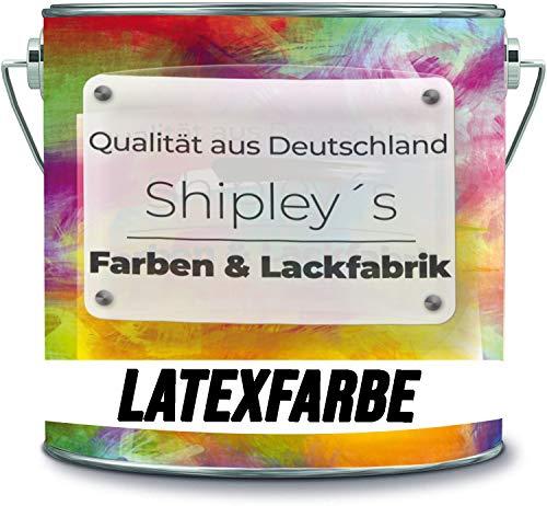 Shipley's Farben & Lackfabrik Latexfarbe Dispersionsfarbe strapazierfähige...