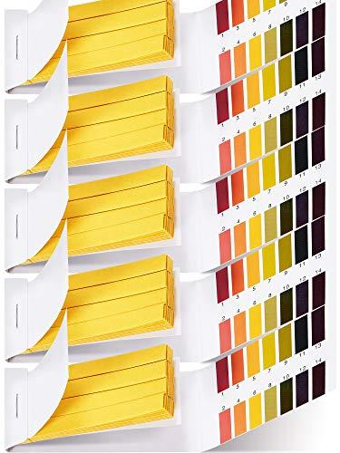 400 Stücke Test Papier pH Prüfung Streifen Lackmus Test Papier Universal pH...