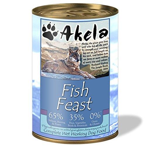 Rucksack Akela Fisch Fest Hund kann 375g