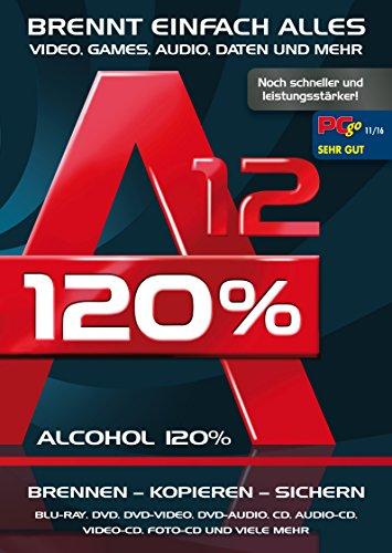 Alcohol 120% Version 13 - Brennen, Kopieren, Sichern - die ultimateive...