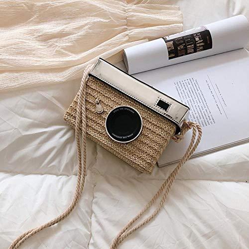 ABO Gras-Tasche weiblich gestrickte Kameratasche Mode Mädchen Einzel-Schulter...