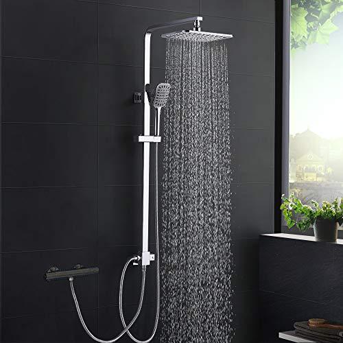 Duschsystem Modern DUTRIX, Regendusche ohne Wasserhahn Dusche für Wandmontage...