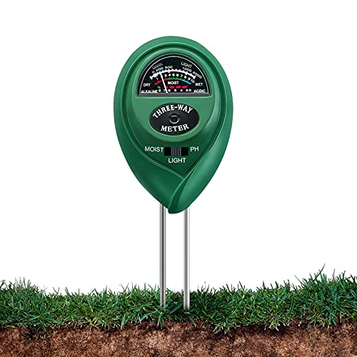 Boden-Feuchtigkeitsmessgerät, KNMY 3 in 1 Bodentester, Bodenmessgerät...