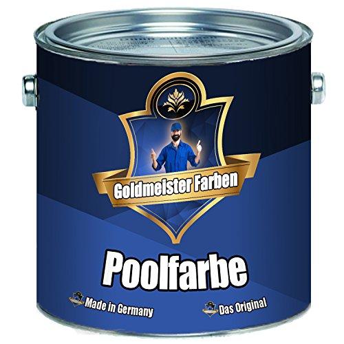 Goldmeister Farben Schwimmbeckenfarbe meisterhafte Poolfarbe Pool-Beschichtung...