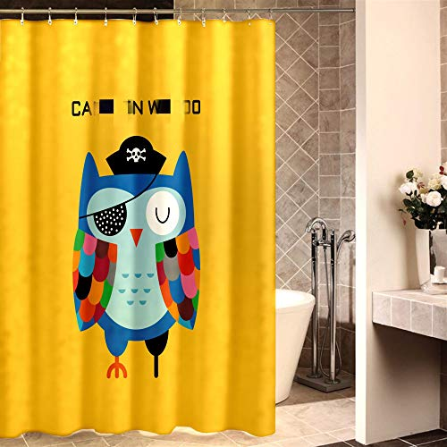 XTUK Home Decor Einfache süße Cartoon Duschvorhänge Home wasserdichte...