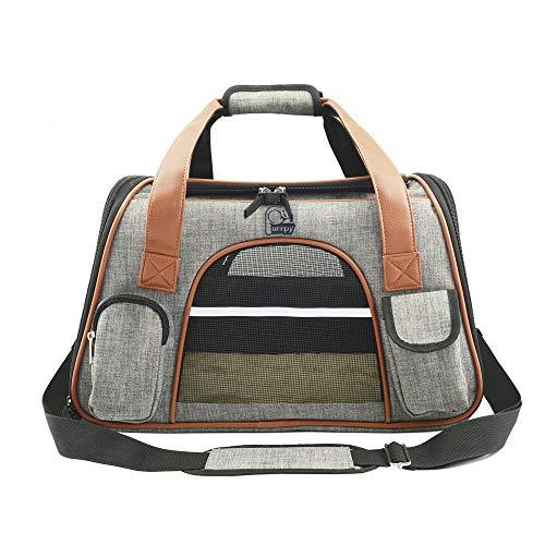 Haustier Transporttasche weiche Reisetasche für Hunde und Katzen trägerkäfig...