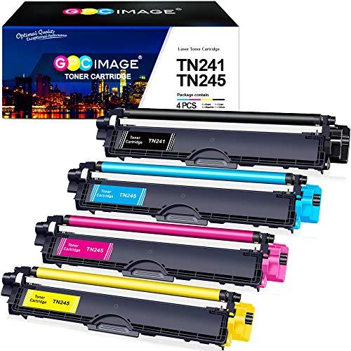 GPC Image Kompatibel Toner Patronen Ersatz für Brother TN-241 TN-245 TN-242...