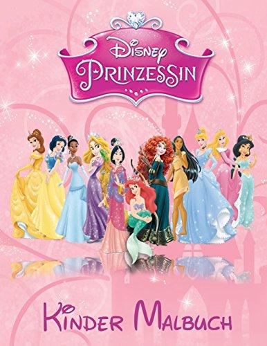 Disney Prinzessin Kinder Malbuch: Diese A4 113 Page Kinderfärbung Buch hat...