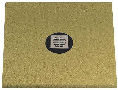 Aqualuxbad Duschboard + Ablauf bodengleiche duschen Duschelement Universalboard...