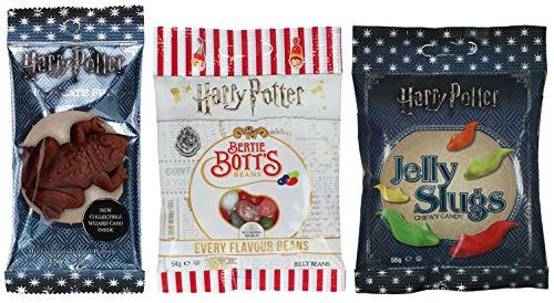 Jelly Belly Bertie Botts Bohnen (54 g) und Harry Potter Schokoladen Frosch (15...