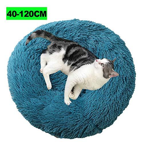 WSGJHB Deluxe Haustierbett, Hundebett Flauschig für Katzen und kleine bis...