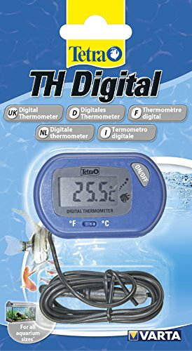 Tetra TH Digital Thermometer (für alle Aquariengrößen, für die einfache und...