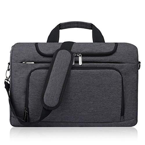 BERTASCHE Laptoptasche 17 Zoll - 17,3 Zoll Notebooktasche Schulter Tasche für...