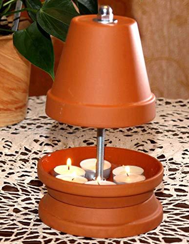 ▀ Teelichtofen ▀ für bis zu 6 Teelichter Teelichtheizung Teelichtkamin...