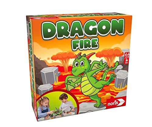 Noris 606064479 - Dragon Fire, das Geschicklichkeitsspiel mit Einsturzpotenzial,...
