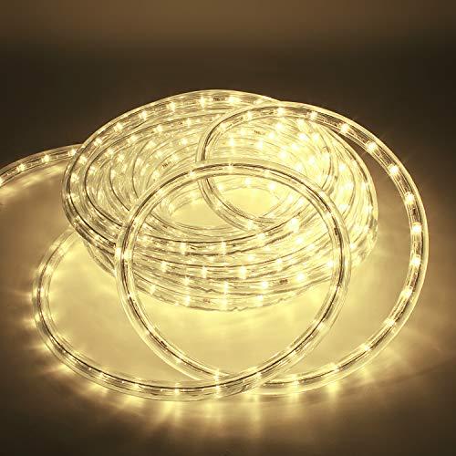 Kefflum LED Lichtschlauch,led schlauch, Lichterkette Licht Leiste 36LEDs/M...