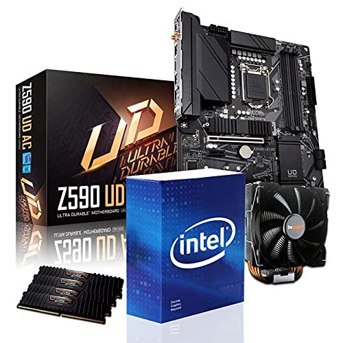 dcl24.de PC Aufrüstkit [14455] Intel i9-11900KF 8x3.5 GHz - 32GB DDR4 3600MHz,...