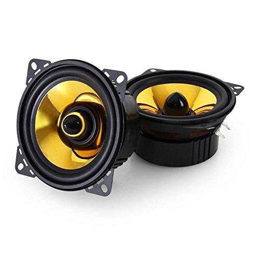 auna Goldblaster 4-3-Wege-Koaxial-Boxen, Auto Lautsprecher, Einbau-Lautsprecher...