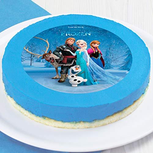 DECOCINO Zucker-Tortenaufleger DISNEY'S Frozen - Die Eiskönigin, Anna & Elsa...