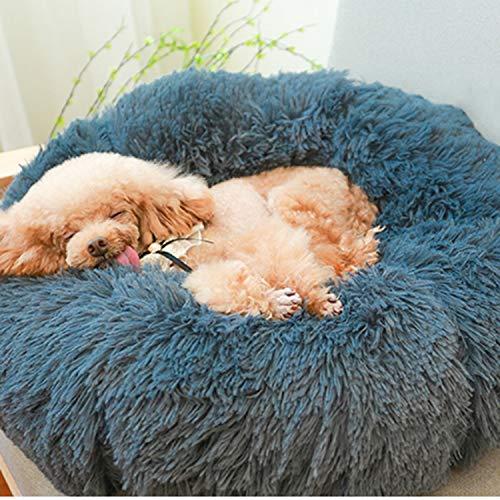 Fostudork Dog Snuffle Mat, Super Soft-Haustier-Bett-Winter-warmes Schlafbett...