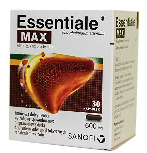 Essentiale Max, 600 mg, Hartkapseln, 30 Stk. Beschleunigung und Schutz der...
