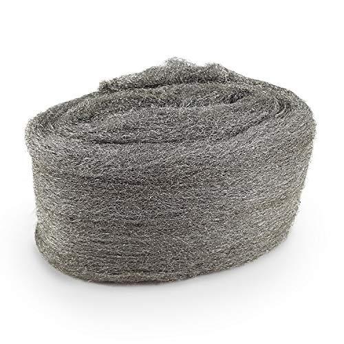 CZ Store Stahlwolle -✮LEBENSLANGE GARANTIE✮-120 g Edelstahl, Güteklasse...