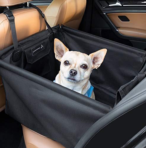 LIONSTRONG Hunde Autositz, kleine bis mittlere Hunde, Hundesitz wasserdicht,...
