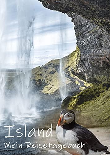 Reisetagebuch Island zum Selberschreiben | Tagebuch für Skandinavien mit viel...