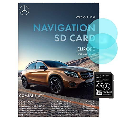Mercedes Navi SD Karte Garmin Karte Pilot STAR2 v12 Europa 2019 - A2189065503...