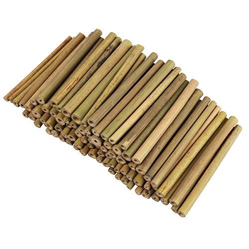 Bambusstäbe, Bambus Stöcke - 100 Stk Bambusstangen für Kinder und Erwachsene...