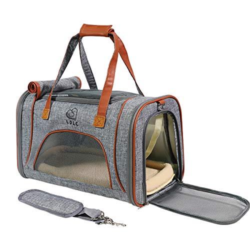 ubest Hunde Tragetaschen Transporttasche Katzentragetasche Faltbar aus Oxford...