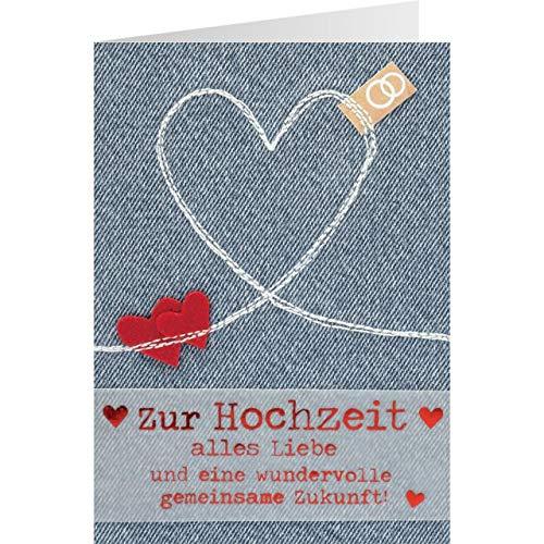 Sheepworld, Gruss und Co. - 90771 - Klappkarte, mit Umschlag, Jeans, Nr. 39, Zur...