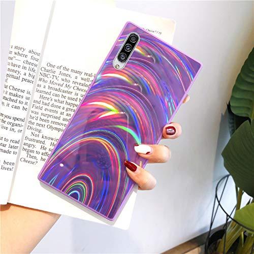 Urhause Kompatibel mit Samsung Galaxy A30S Hülle Funkeln Glitzer Gelee Blendend...