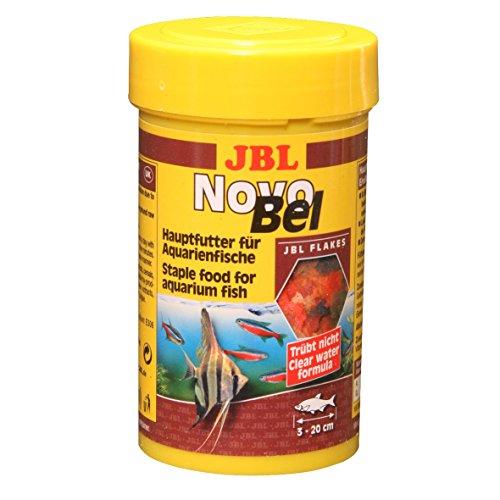 JBL NovoBel 30140 Alleinfutter für alle Aquarienfische, Flocken 1 l