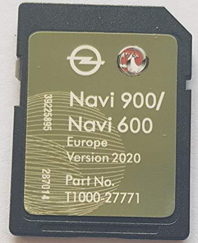 SD Karte GPS Opel NAVI600 NAVI900 Europe 2020