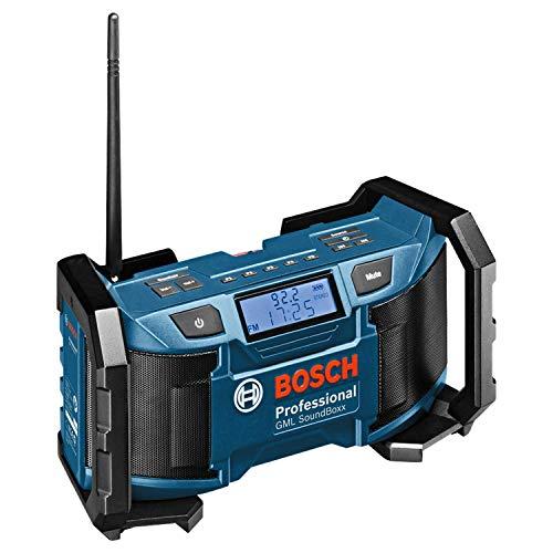 Bosch Professional 18V System Akku Baustellenradio GML SoundBoxx (Aux-In, ohne...