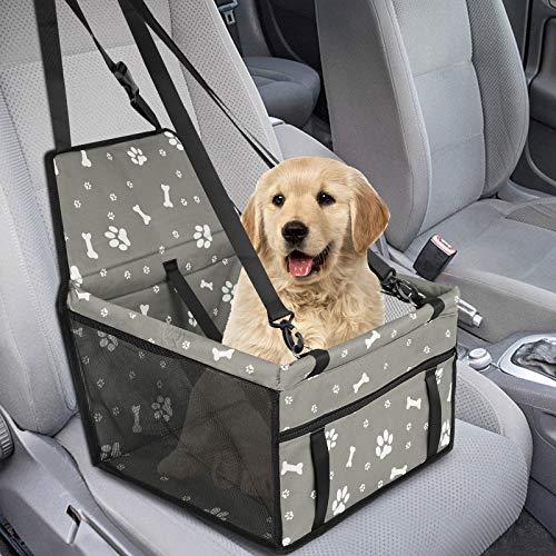 GeeRic Hunde Autositz für Kleine Mittlere Hunde Hochwertiger Auto Hundesitz...